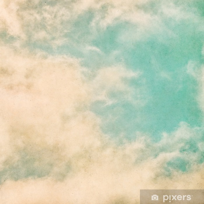 Fototapeta winylowa Retro Grunge mgła - Krajobrazy