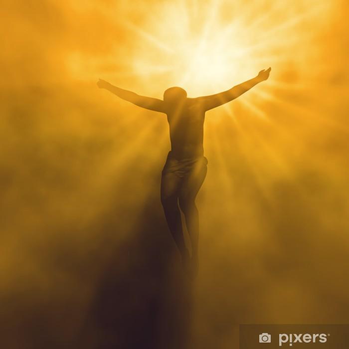 Pixerstick Sticker Jezus Christus in de hemel - Thema's