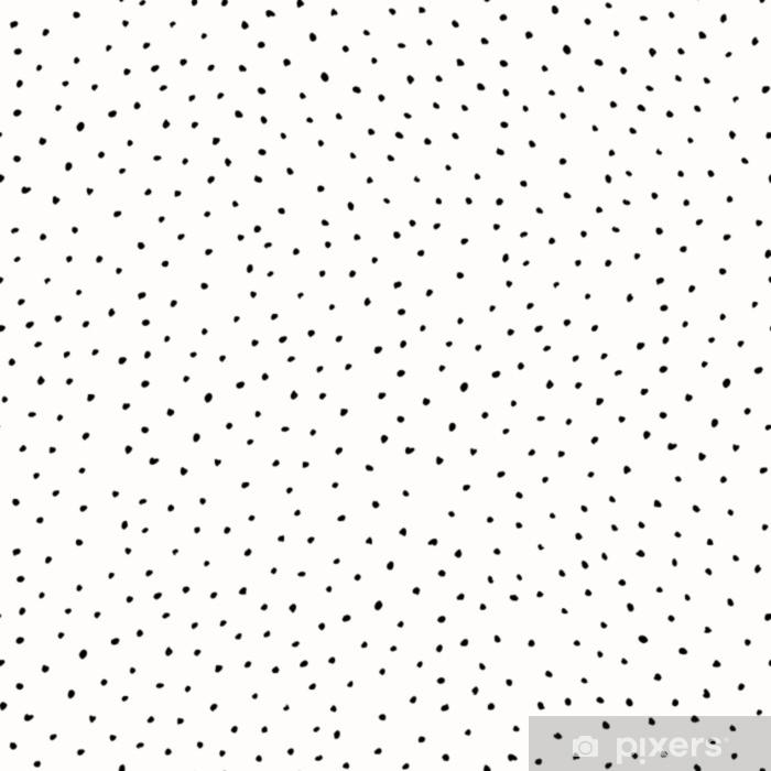 Vinyl-Fototapete Abstraktes Gekritzel-Muster - Grafische Elemente