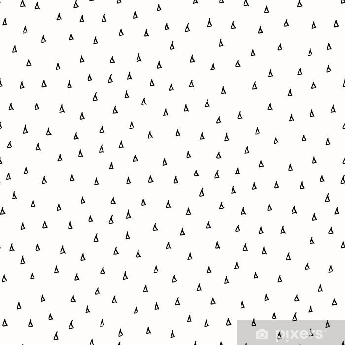 Naklejka Pixerstick Streszczenie Scribble Wzór - Zasoby graficzne