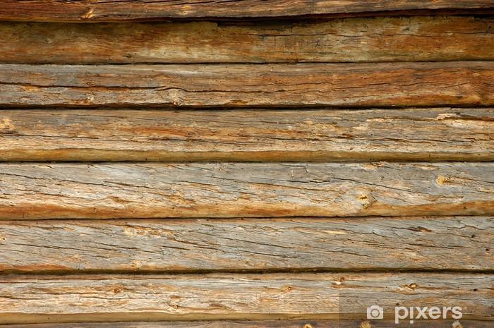 Papier peint vinyle Vieux panneaux en bois - Thèmes
