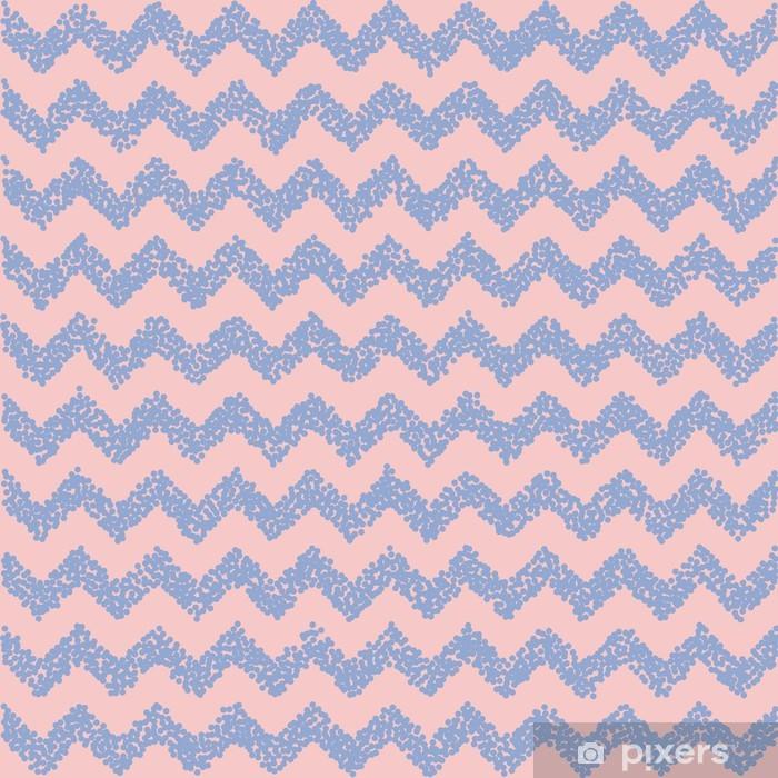 Papier peint vinyle Le quartz rose et de sérénité. toile de fond Chevron. Vector illustration. - Arrière plans