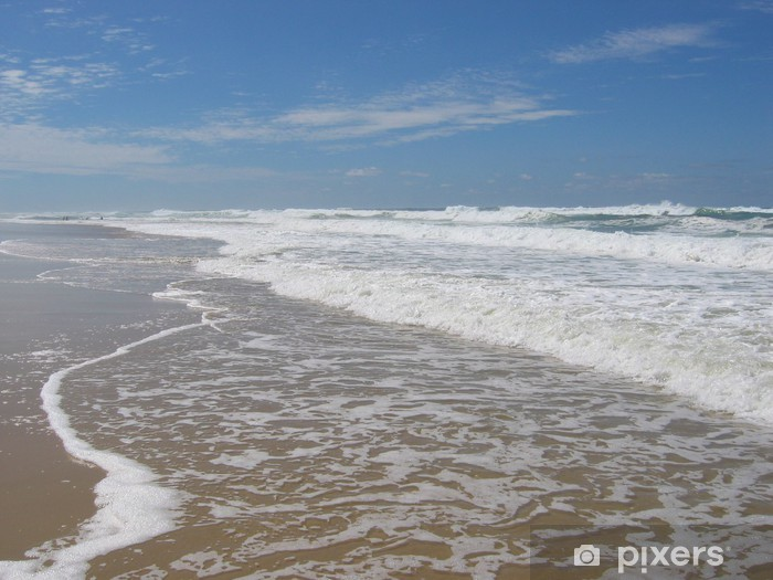 Pixerstick Aufkleber Hourtin Ocean Beach - Urlaub