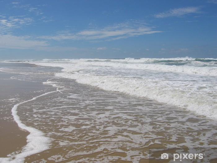 Sticker Pixerstick Hourtin plage océan - Vacances