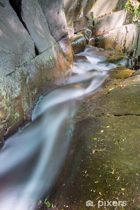 Runing water Vinyl Wall Mural - running