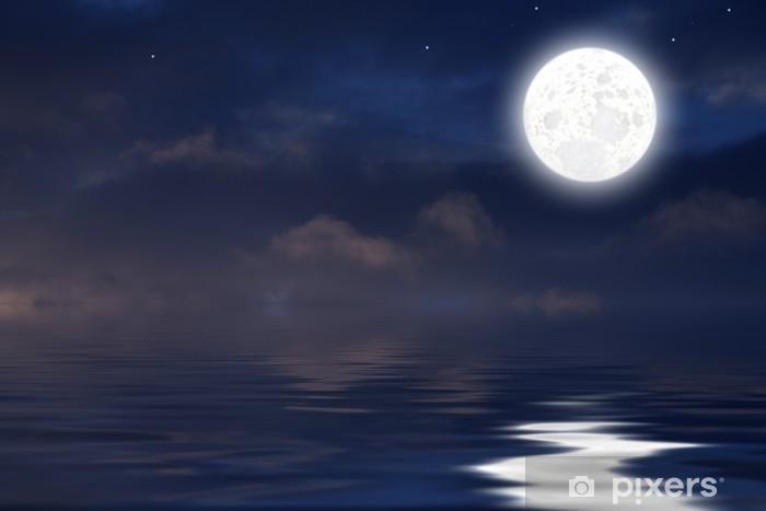 Fototapete Luna Sul Mare Pixers Wir Leben Um Zu Verändern