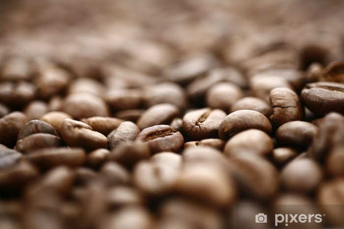 Papier peint vinyle Café en grains - Boissons chaudes