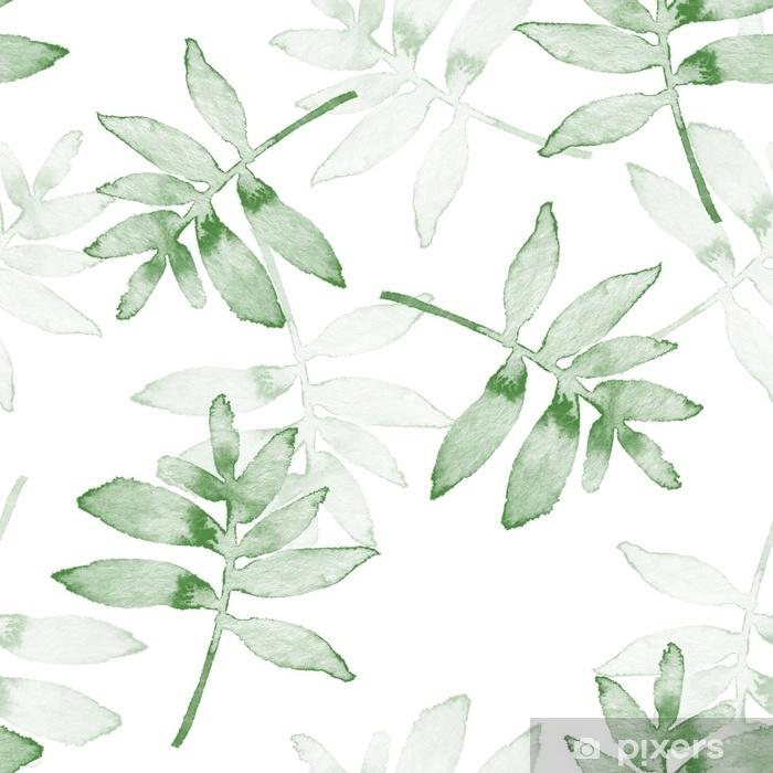 Carta da Parati in Vinile Rami. sfondo acquerello. modello senza cuciture 1 - Risorse Grafiche