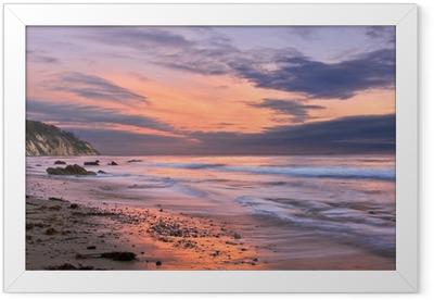 Santa Barbara Sunset Framed Poster