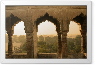 ancient construction, india Framed Poster