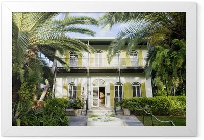Hemingway House, Key West, Florida, USA Framed Poster