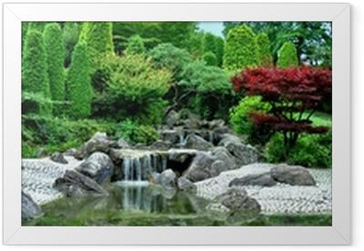 Japanischer Garten Framed Poster