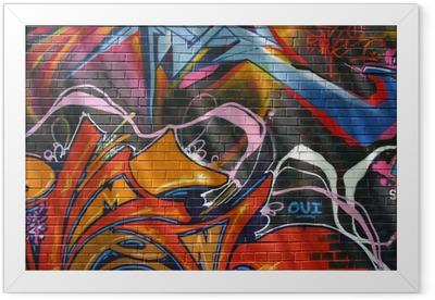 Graffiti Framed Poster