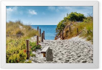 Ostseeküste Framed Poster