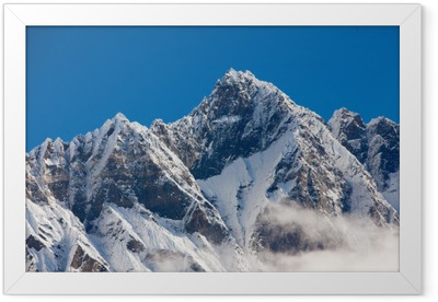 Himalaya mountains Framed Poster