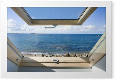 Dachfenster Framed Poster