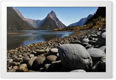 New Zealand Fiordland Framed Poster