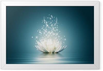 Lotus flower Framed Poster