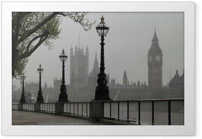 Big Ben & Houses of Parliament Framed Poster