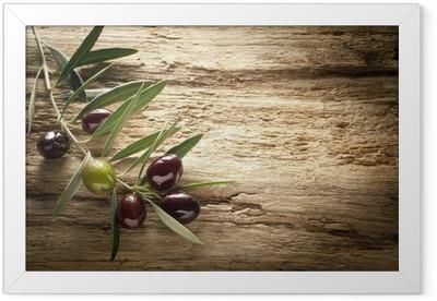olives Framed Poster