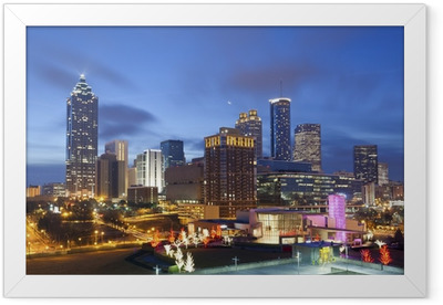 City of Atlanta. Framed Poster