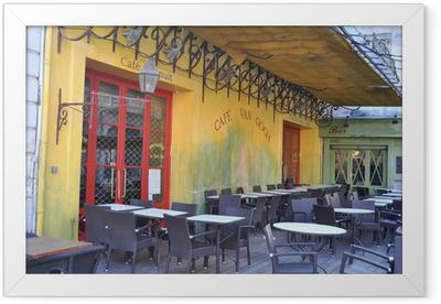Cafe Van Gogh Framed Poster