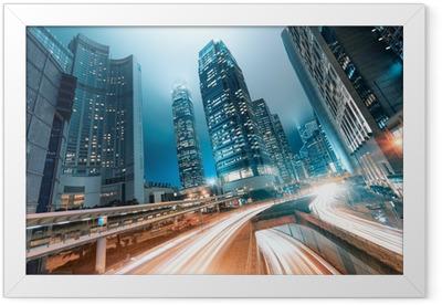 Hong Kong Framed Poster