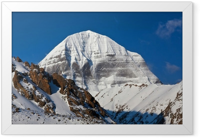 Mount Kailash in Tibet Framed Poster