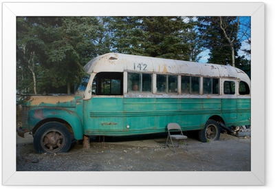 Magic Bus 142 from the movie Into The Wild Framed Poster