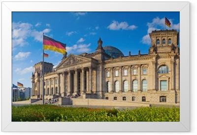 Ingelijste Poster Reichstag Berlijn