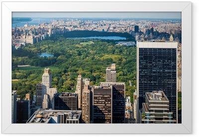Central Park Framed Poster