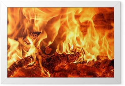 fuoco Framed Poster
