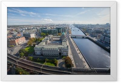 Dublin Skyline Framed Poster