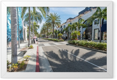 Rodeo Drive Framed Poster