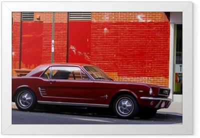car Framed Poster