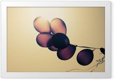 balloons Framed Poster