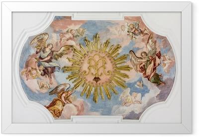 fresco angels Framed Poster