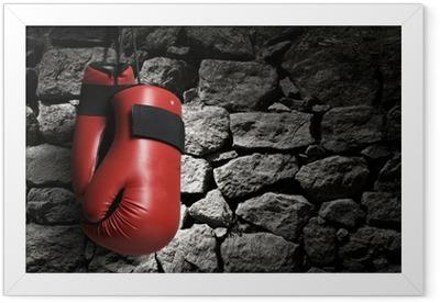 Boxing gloves Framed Poster