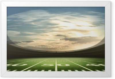 stadium american Framed Poster