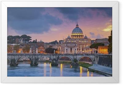 Rome. Framed Poster