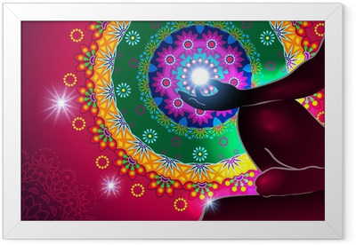 Meditation Framed Poster