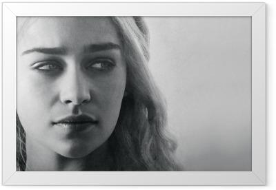 Daenerys Targaryen Framed Poster