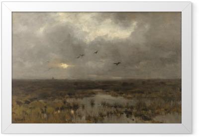 Anton Mauve - The Swamp Framed Poster