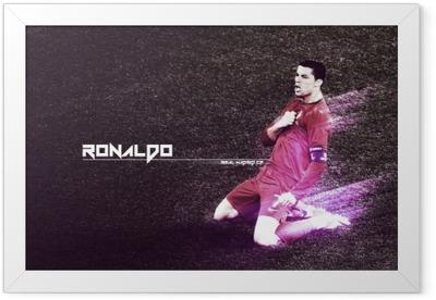Cristiano Ronaldo Framed Poster
