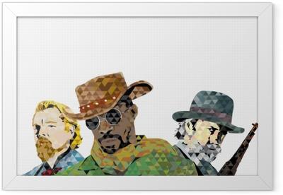 Django Framed Poster