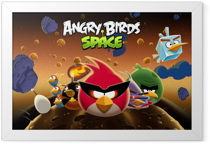 Angry Birds Framed Poster - Themes
