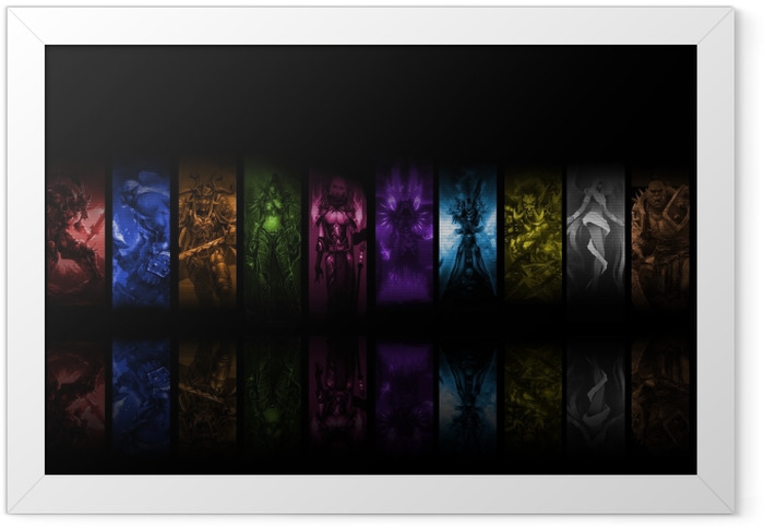 World of Warcraft Framed Poster - Themes