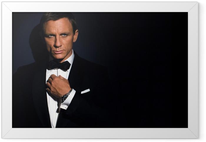 James Bond Framed Poster - Themes