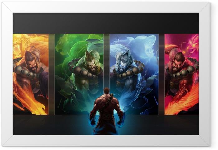 Plakat w ramie League of Legends - Tematy