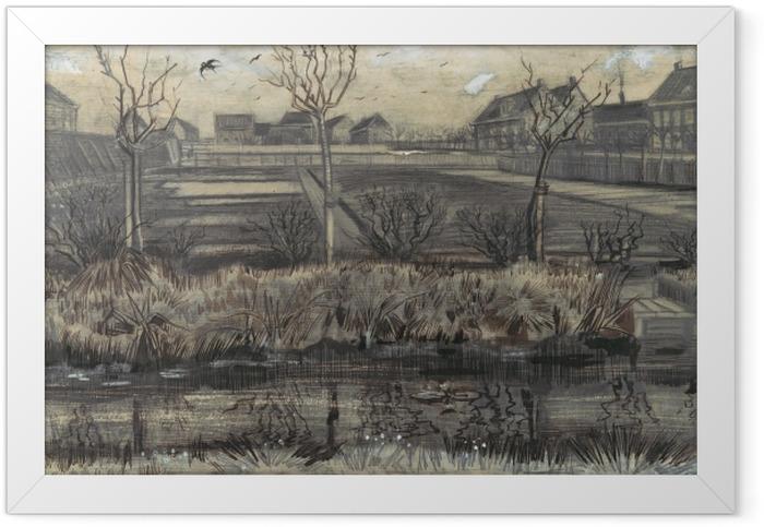 Poster en cadre Vincent van Gogh - Garderie sur Schenkweg - Reproductions